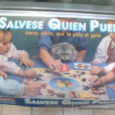 Juegos de mesa: SALVESE QUIEN PUEDA CORRE, CORRE, QUE TE PILLA EL GATO FALOMIR JUEGOS . Lote 34850511