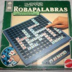 Juegos de mesa: JUEGO DE MESA COMPLETO - ROBAPALABRAS - MATTEL - AÑOS 90. Lote 34861908