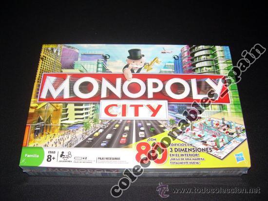 Monopoly City 3d Hasbro 80 Edificios Nuevo Y Pr Comprar Juegos De
