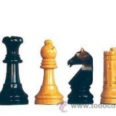 Juegos de mesa: JUEGO DE PIEZAS DE AJEDREZ DE MADERA DE BOJ STAUNTON SEVILLA 87 FD-23. Lote 40716631