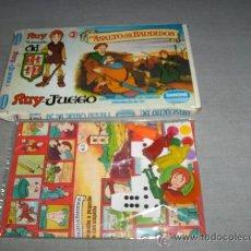 Juegos de mesa: RUY PEQUEÑO CID Nº 3 ASALTO DE LOS BANDIDOS. DANONE 1980. DE REGALO Nº 1 TORREÓN DEL GIGANTE!!!!!!. Lote 34984950