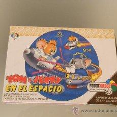 Juegos de mesa: JUEGO DE MESA FEBERJUEGOS TOM Y JERRY EN EL ESPACIO. REF 911. COMPLETO. AÑO 1984.. Lote 34997198