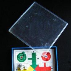 Juegos de mesa: ANTIGUO PARCHIS IMANTADO 16X16 CM. PARCHIS METALICO IMANTADO. VER FOTOS.. Lote 35062491