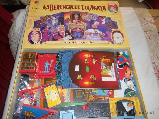 La Herencia De Tia Agata Mb Juegos Anos 90 Usad Comprar Juegos De