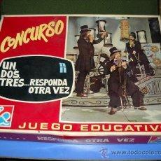 Juegos de mesa: JUEGO EDUCATIVO CONCURSO UN, DOS, TRES ... RESPONDA OTRA VEZ. Lote 35168519
