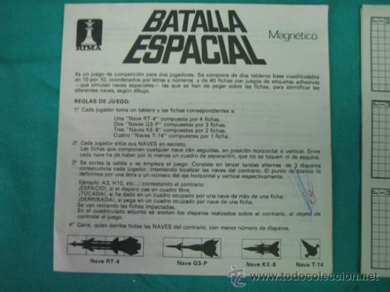 Juegos de mesa: Juego magnetico Batalla Espacial de RIMA - Foto 5 - 35214070