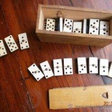 Juegos de mesa: DOMINÓ DE BAQUELITA AÑOS 50, FALTA UNA FICHA.. Lote 35216240