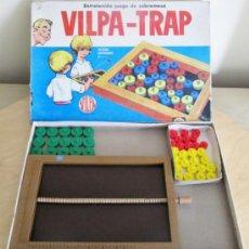 Juegos de mesa: VILPA-TRAP JUEGO DE MESA DE LOS AÑOS 60 - CASA VILPA. Lote 35221896