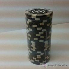 Juegos de mesa: 25 FICHAS DE POKER PRECINTADO. Lote 35226042