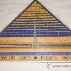 Juegos de mesa: JUEGO DE MESA PIRAMIDE DEL AMOR, JUEGOS PROHIBIDOS DE CEJU S.L.. Lote 35271943