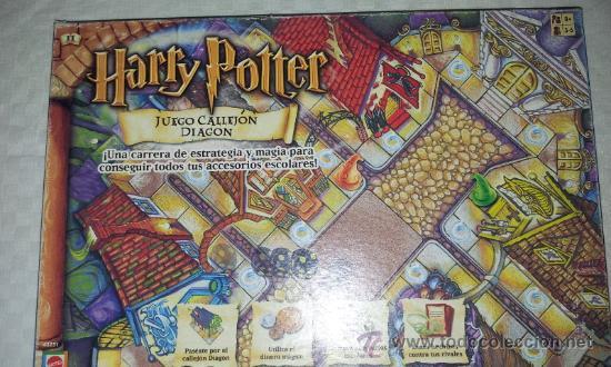 Juego De Mesa Harry Potter Juego Callejon Diag Comprar Juegos De