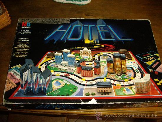 Juego De Mesa Hotel Anos 80 De Mb Juegos Comprar Juegos De Mesa