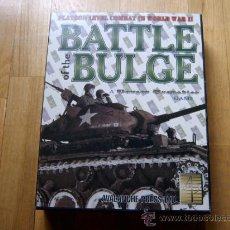 Juegos de mesa: JUEGO WARGAME - BATTLE OF THE BULGE - PANZER GRENADIER SERIES - AVALANCHE PRESS 2002 - WWII . Lote 37199746