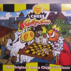 Juegos de mesa: ANTIGUO AJEDREZ COLLECTION CHESS DE CHUPA CHUPS PRECIOSO. Lote 35620607