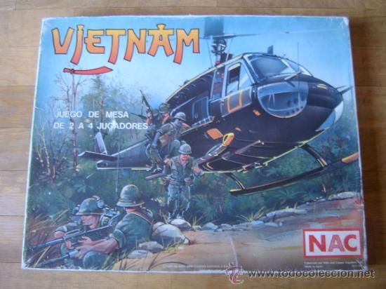 JUEGO WARGAME NAC VIETNAM - 1987 - ESTRATEGIA - COMPLETO (Juguetes - Juegos - Juegos de Mesa)