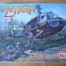 Juegos de mesa: JUEGO WARGAME NAC VIETNAM - 1987 - ESTRATEGIA - COMPLETO. Lote 35656404