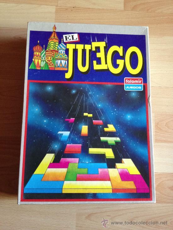 Tetris El Juego De Falomir Comprar Juegos De Mesa Antiguos En