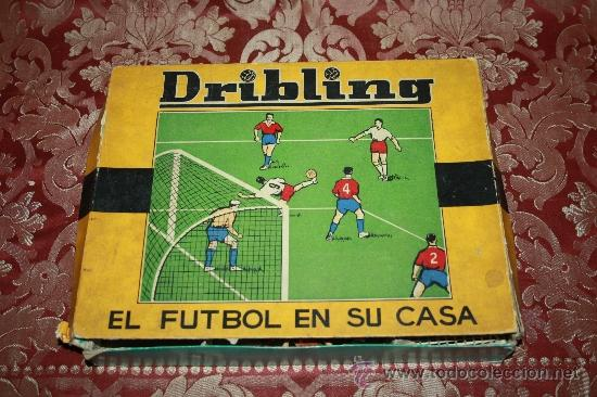 Antiguo juego de mesa dribling el futbol en s comprar for Juego de mesa de futbol