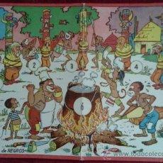 Juegos de mesa: MERIENDA DE NEGROS EN CARTON. JUEGOS REUNIDOS GEYPER. AÑOS 60. DIBUJO KARPA. Lote 35909720