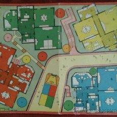 Juegos de mesa: VIVIENDAS AMUEBLADAS. JUEGOS REUNIDOS GEYPER. AÑOS 60. DIBUJO KARPA. Lote 35909890