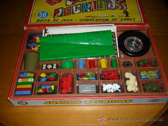 Antiguo Juegos Reunidos Geyper 50 Mira Todas L Comprar Juegos De