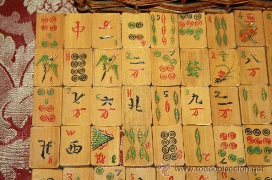 Entretrenido Juego De Mahjong Con Las Fichas En Comprar Juegos De
