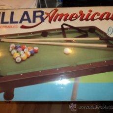 Juegos de mesa: BILLAR AMERICANO COMPETICION MARCA CHICOS REF. 764 - AÑOS 70 - DIMENSIONES 778X442X660 - COMPLETO. Lote 53540842