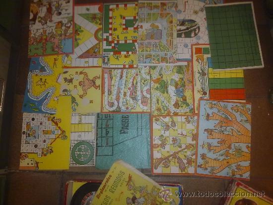 Juegos de mesa: Antigua Caja de Juego Reunidos 25 Geyper. Muy completo 16 catones de juego, instrucciones, etc - Foto 2 - 36270967
