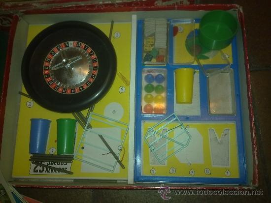 Juegos de mesa: Antigua Caja de Juego Reunidos 25 Geyper. Muy completo 16 catones de juego, instrucciones, etc - Foto 3 - 36270967