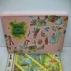 Juegos de mesa: KLEE - ANTIGUO JUEGO DE MESA ALEMÁN DE 1940 AU PAYS DES MERVEILLES. Lote 36348763