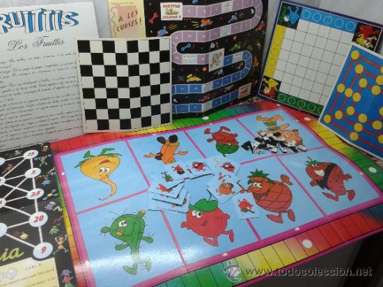 Juegos De Mesa Varios Tableros Fruittis Domino Comprar Juegos De