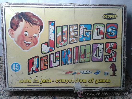 Juegos Reunidos Geyper Nº 45 Muy Completo Comprar Juegos De Mesa
