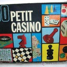 Juegos de mesa: BORRAS - 50 JUEGOS DE MESA PETIT CASINO. Lote 36438887