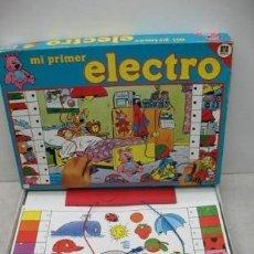 Juegos de mesa: DISET - JUEGO DE MESA MI PRIMER ELECTRO. Lote 36440442