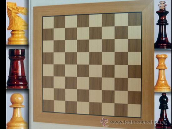 Juegos de mesa: Conjunto de ajedrez de madera J-09.Tablero magnético 50x50 y piezas FS-5 imantadas - Foto 4 - 51677164