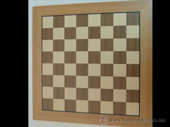 Juegos de mesa: Conjunto de ajedrez de madera J-09.Tablero magnético 50x50 y piezas FS-5 imantadas - Foto 6 - 51677164