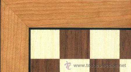 Juegos de mesa: Conjunto de ajedrez de madera J-09.Tablero magnético 50x50 y piezas FS-5 imantadas - Foto 7 - 51677164