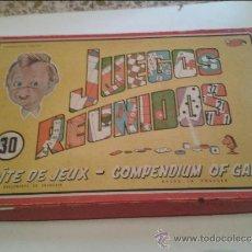 Juegos de mesa: JUEGOS REUNIDOS GEYPER ANTIGUO. Lote 36648338