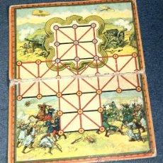 Juegos de mesa: ANTIGUO JUEGO DEL ASALTO, JUEGO DE MESA DE ESTRATEGIA, PLEGABLE, 285 X 370 MILIMETROS, AÑOS 10/20.. Lote 120277807