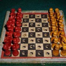 Juegos de mesa: AJEDREZ - DAMAS . Lote 37012948
