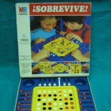 Juegos de mesa: JUEGO DE SOBREMESA SOBREVIVE DE MB.FALTAN BOLAS. Lote 37129892