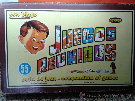 Juegos Reunidos Geyper Nº 55 Con Bimgo Muy Comp Comprar Juegos De