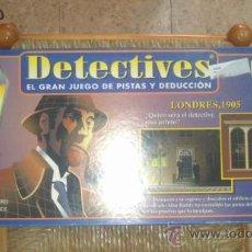 Juegos de mesa: JUEGO DE MESA DETECTIVES DE BORRAS COMPLETO. Lote 37201658