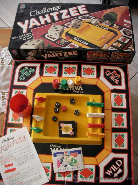 Antiguo Juego Challenge Yahtzee Muy Curioso E I Comprar Juegos De