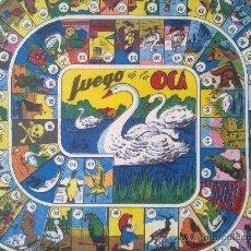 Juegos de mesa: CARTEL JUEGO DE LA OCA, ANTIGUO, CARTON, (27 X 27 CM). Lote 37367719