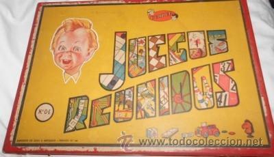 Juegos Reunidos Geyper Nº 0 E Caja De Madera Comprar Juegos De