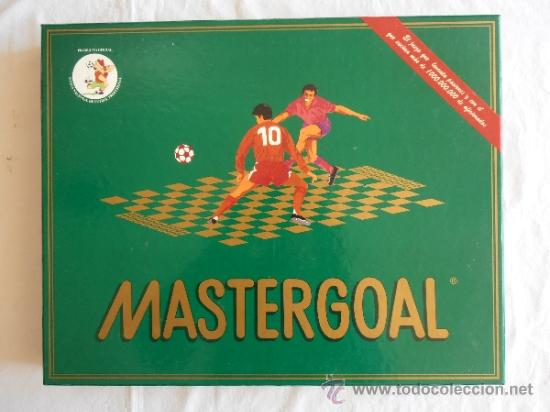 JUEGO DE MESA MASTERGOAL ESTRATEGIA FUTBOL (Juguetes - Juegos - Juegos de Mesa)