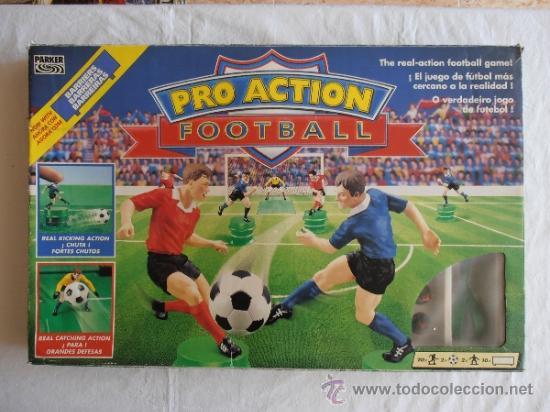 Juego De Mesa Pro Action Futbol Parker Comprar Juegos De Mesa