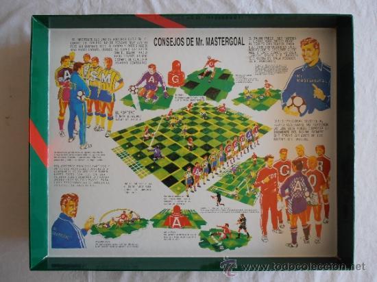 Juegos de mesa: JUEGO DE MESA MASTERGOAL ESTRATEGIA FUTBOL - Foto 2 - 37613680