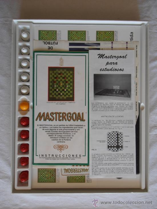 Juegos de mesa: JUEGO DE MESA MASTERGOAL ESTRATEGIA FUTBOL - Foto 4 - 37613680